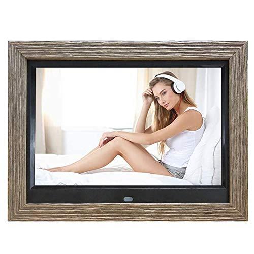 TFACR Marcos de Fotos Digitales de 10.1 '', Foto de resolución IPS HD 1280 * 800 con Control Remoto y función de inducción del Cuerpo Humano, para Ver Videos/música