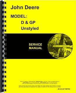 John Deere GP Tractor Service Manual (1928-1935)