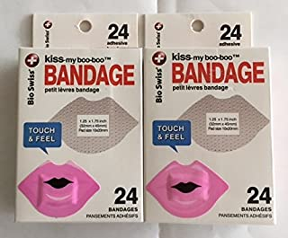 Kiss-My-Boo-Boo Pink Lips Bandage