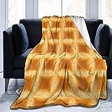 Los niños Duermen insomnio Hornear Comida Divertida Waffle Franela Amarilla Mullida Manta de Tiro de Lana Completa Edredón tamaño Queen King Felpa Suave y acogedora Edredón Ropa de Cama de guardería