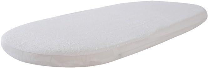 Couffin matelass/é enti/èrement respirant et de forme ovale pour landau//landau 80 x 40 x 3,5 cm. dimensions matelas doux