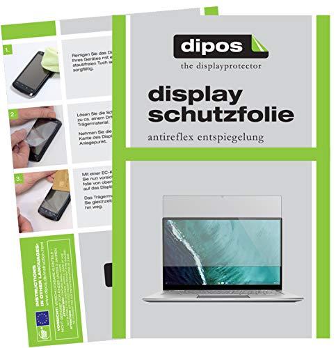 dipos I 2X Schutzfolie matt kompatibel mit Asus Chromebook Flip C434T Folie Bildschirmschutzfolie