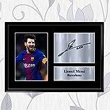 Inspired Walls Lionel-Messi-Fotodruck mit Autogramm, DIN
