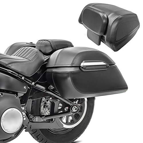 Motorrad Topcase Set für Costumbikes + Seitenkoffer + Montagekit Kunstleder