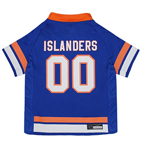 NHL New York Islanders Jersey for Dogs & Cats, Small. - Let Your Pet be a Real NHL Fan!