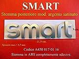 Smart FORTWO FORFOUR Stemma Posteriore A4508170116 Badge Emblema Fregio Logo A450 817 01 16