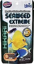 HIKARI Seaweed Extreme Floating Seaweed Rich Pellets for Smaller Marine Herbivores 1.58oz (45g)
