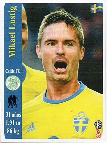 World Cup Russia 2018 Sticker Peru Mikael Lustig Celtic Football Club 1887