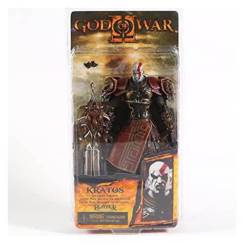 Figura Juguete Dios DE LA GUERIA Kratos PVC Figura DE ACCIÓN COLECCIÓN Modelo DE Juguete Figura Juguete (Color : Mouth Open)