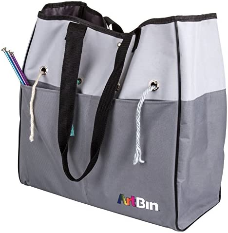 ArtBin 6821AG Yarn Tote Portable Knitting Crochet Storage Bag with Lift Out Yarn Organizer 1 product image
