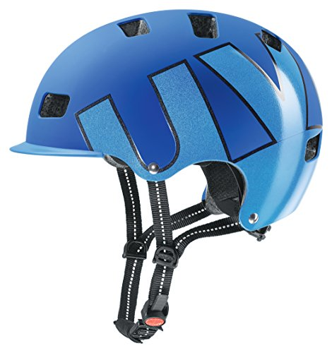 uvex Unisex– Erwachsene hlmt 5 bike pro Fahrradhelm, blue mat, 58-61 cm