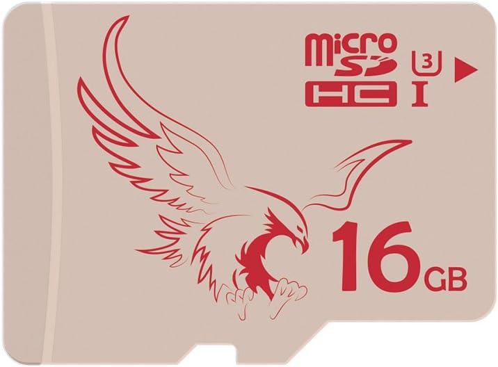 BRAVEEAGLE Micro SD Card 16GB Ultra microSDHC Memory Card for Camera/Phone (U3 16GB 2 Pack)