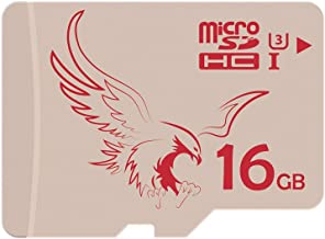 BRAVEEAGLE Micro SD Card 16GB 2 Pack microSDHC Card Memory Card Pack for Android Tablet/Phone/Gopro/Nintendo Switch/DJI Drone (2 Pack x 16GB UHS-I 3)