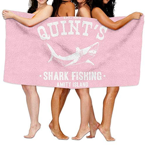 AGHRFH - Toalla de playa con diseño de tiburón, 100%...