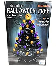 Image: Mr Halloween Haunted Halloween Tree with Removable Bulbs | Brand: Halloween by Mr.Y.T.