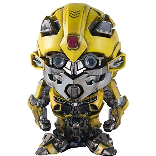 Herocross Transformers The Last Knight Super Deformed Vinyl Figur Bumblebee 10 cm