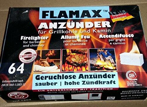 HST Flamax geruchlose Grillanzünder Anzünder Kaminanzünder Ofenanzünder 24 x 32 Stück = 768 Stück