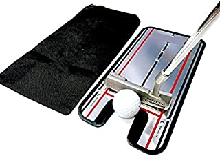 Golf Putting Alignment Mirror Training Aid Trainer Eye Line Practice Your Putting Alignment Tool 12x5.5inch