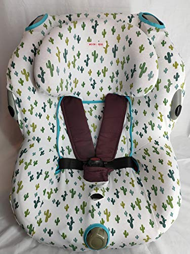 MOON-BEBE hoes voor stoel maxi cosi bebe confort OPAL (WHITE)