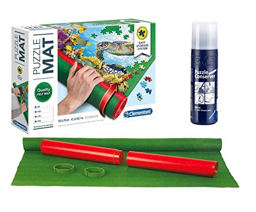 Outletdelocio Pack Puzzle Roll 2000. Tapete Universal para Transportar/Guardar Puzzles + Pegamento Puzzles
