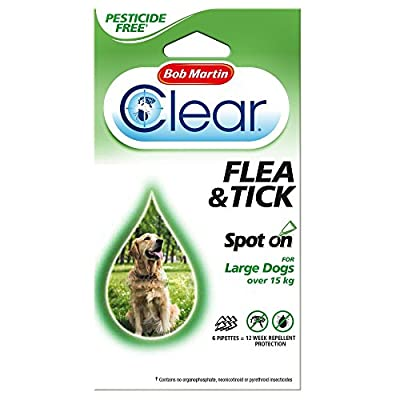 Bob Martin Spot On Flea & Tick Protection For Large Dogs Over 15kg from Bob Martin