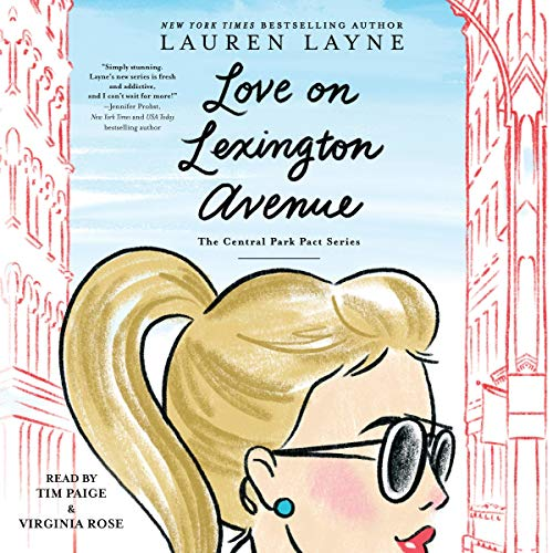 Love on Lexington Avenue audiobook cover art