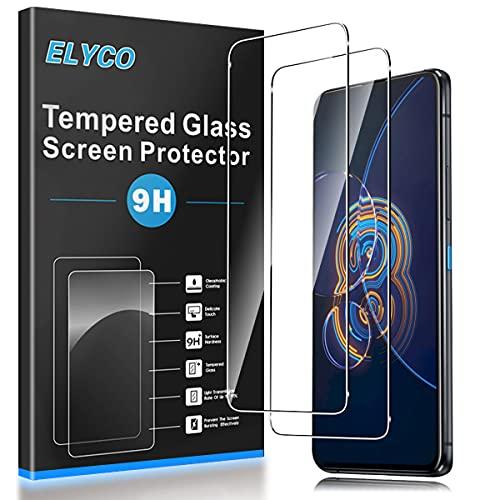 ELYCO Cristal Templado Protector de Pantalla para ASUS ZenFone 8 Flip, [2...