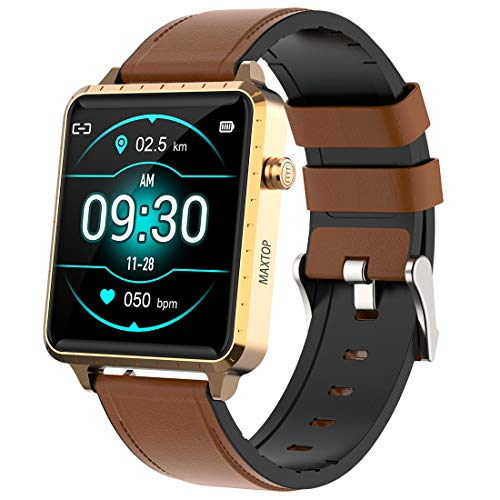Smart Watch Compatible iPhone and Android Phones, Fitness Tracker with...