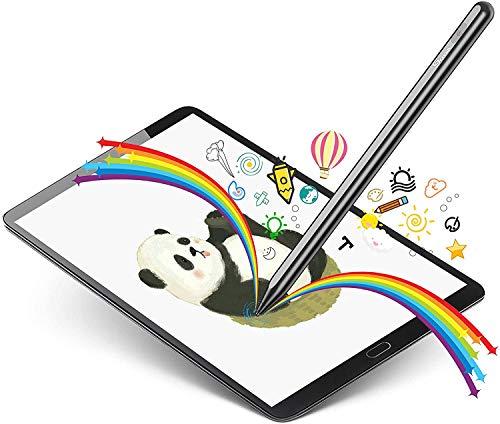 Active Stylus Stift fur Tablets Smartphone Touchscreens Active Pencil Hochpraziser Eingabestift Wiederaufladbarer Stift zum Zeichnen Schreiben fur Apple iPad iPhone Samsung
