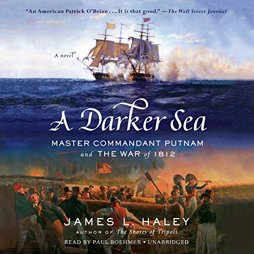 A Darker Sea audiobook cover art