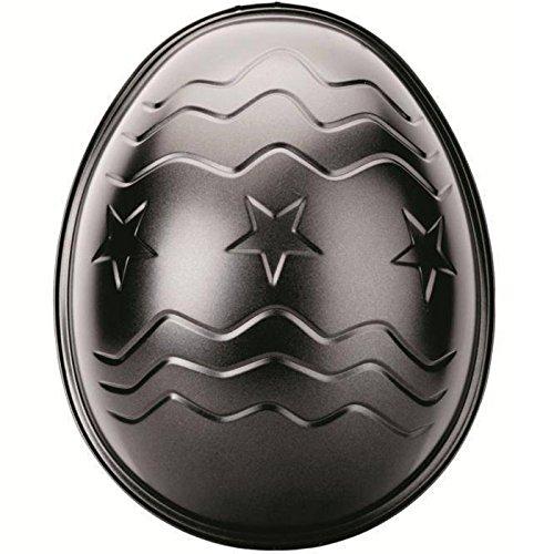 Ibili Osterei-Form Moka 26x21x8,3 cm, Stahlblech, schwarz, 26 x 21 x 8.3 cm