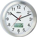 peweta 51161315Orologio da parete Arab.Numeri 30cm Radio Orologio 1,5V LCD 51.161.315