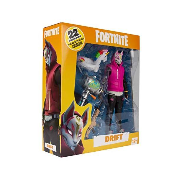 HEO GMBH- Fortnite Figura articulada Drift, Multicolor (MC Farlane MCF10607-7) 4
