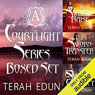 Courtlight Series Boxed Set (Books 1, 2, 3) audiobook cover art
