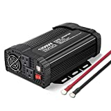 BYGD 1200Watt Power Inverter 12V DC to 110V converters for Cars Automotive Car Inverter with Dual AC Outlets 2.1A USB Modified...