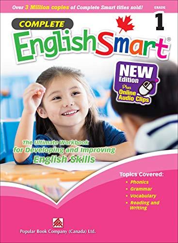 Complete EnglishSmart (New Edition) Grade 1: Canadian Curriculum English Workbook