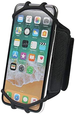 Outdoor Cycling Sport Running Gym 360 Rotating Armband Wristband Phone Holder For iPhone 11 product image