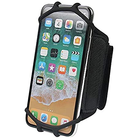 Outdoor Camping Rotating sports phone wristband Runing Gym Cycling Mobile holder