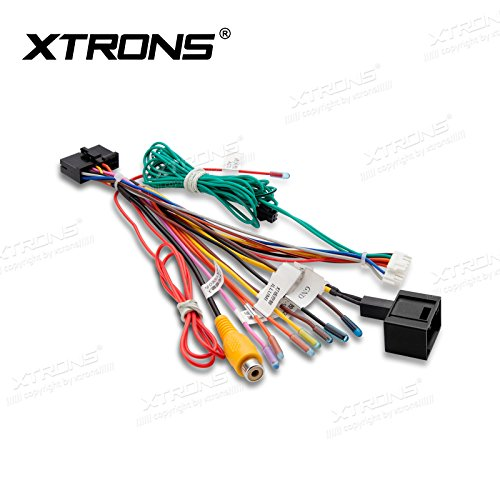 XTRONS ISO Wiring Harness Adaptor Connector Cable Wire Car Stereo Radio for Xtrons Mercedes-Benz E/CLS