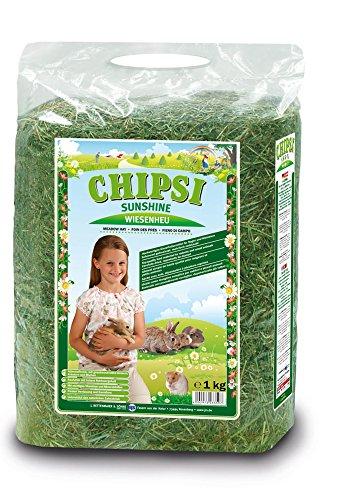 Chipsi Sunshine - Heno para roedores, tamaño 1 kg, compacto