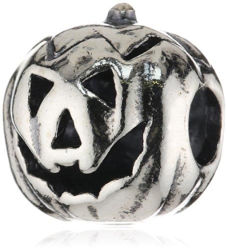 Trollbeads Silber Bead Halloween Kürbis