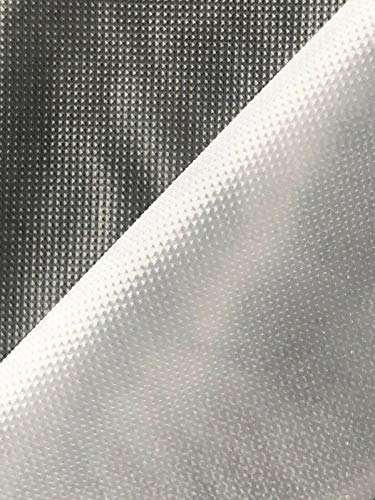 Slantastoffe Stickfolie wasserlöslich Weber Folie transparent Breite 100cm, Länge 1m
