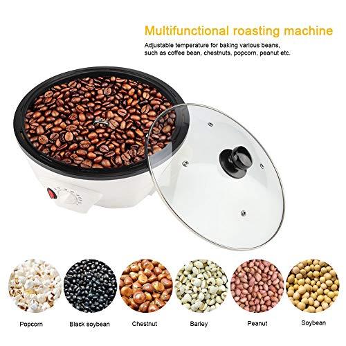 800W 220V elektrische koffiebrandermachine, huishoudelijke koffiebrandermachine Elektrische koffiebonenbrander, koffieboon Roosterende bakmachine
