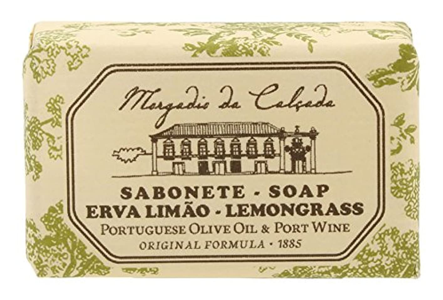 ぬれた初期の強化するモルガディオ ダ カルサダ ソープ レモングラス 35g