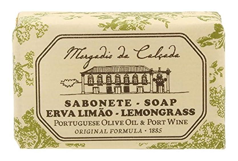 速い徐々に製油所モルガディオ ダ カルサダ ソープ レモングラス 35g