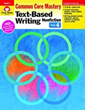 Text Based Writing: Nonfiction, Grade 4 (Text-Based Writing: Nonfiction: Common Core Mastery) by Evan Moor (2014-01-01)