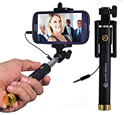 Mystical Master™ Selfie Stick: PLUG and PLAY [no Bluetooth required]