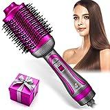 Hot Air Brush, Hair Dryer Brush, Hair Dryer & Volumizer Hot Air Styler Brush, 5 in 1 Multifunctional Blow Dryer Brush, Professional Negative Ion Anti-Frizz Hair Dryer Styler Brush