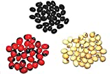 3 Types of chirmi -Red, Black and White No of seeds- 51 pcs each so total 153 seeds Use for pooja purpose only and these are not edible seeds All the mentioned details are completely mythological. We are not making claims of any kind