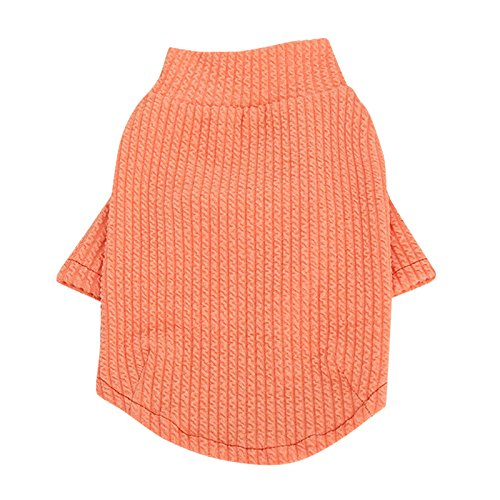 ASOSMOS Dog Pet Puppy Clothing Weiche, dünne Hemd-Pullover-Hundekleidung Kleine Hundekleidung